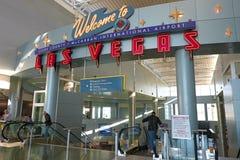 Aéroport international de McCarran à Las Vegas Photographie stock libre de droits