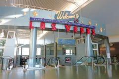 Aéroport international de McCarran à Las Vegas Images stock