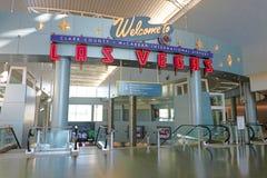 Aéroport international de McCarran à Las Vegas Photos stock