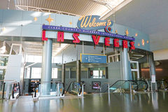Aéroport international de McCarran à Las Vegas Image stock