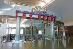 Aéroport international de McCarran à Las Vegas Photos libres de droits