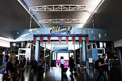 Aéroport international de McCarran à Las Vegas nanovolt Photo libre de droits