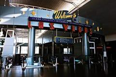 Aéroport international de McCarran à Las Vegas nanovolt Image stock