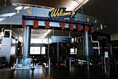 Aéroport international de McCarran à Las Vegas nanovolt Photo stock