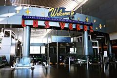 Aéroport international de McCarran à Las Vegas nanovolt Images stock