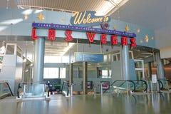 Aéroport international de McCarran Image stock
