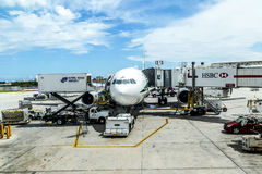 Aéroport international de Miami Photo libre de droits