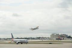 Aéroport international de Miami Photo stock