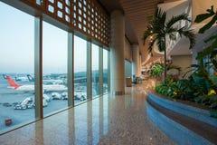 Aéroport international de Mumbai Photos stock