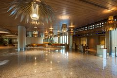 Aéroport international de Mumbai Photographie stock