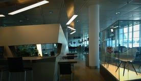 Aéroport international de Munich, bas-côté dans terminal2 Image libre de droits