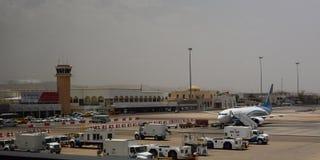 Aéroport international de Muscat muscat l'oman Images stock