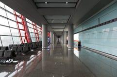 Aéroport international de Pékin. La Chine. Photo libre de droits