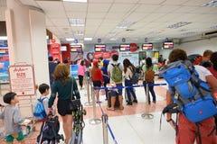 Aéroport international de Phuket Photo stock