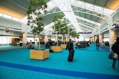 Aéroport international de Portland images stock