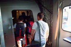 Aéroport international de Prague Photographie stock