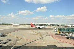 Aéroport international de Prague Photos libres de droits