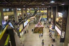Aéroport international de São Paulo-Guarulhos - Brésil Photographie stock libre de droits