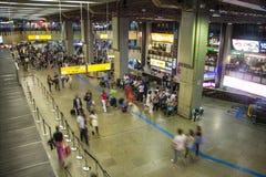 Aéroport international de São Paulo-Guarulhos - Brésil Photos stock