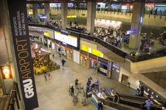 Aéroport international de São Paulo-Guarulhos - Brésil Photos libres de droits