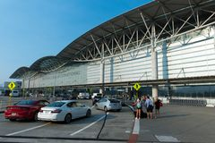 Aéroport international de San Francisco Images libres de droits