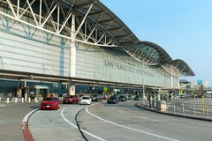 Aéroport international de San Francisco Photo stock