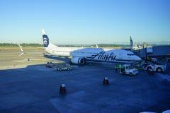 Aéroport international de Seattle Images libres de droits