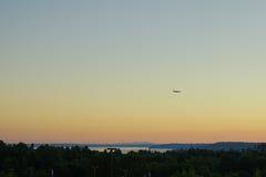 Aéroport international de Seattle Images stock