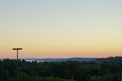 Aéroport international de Seattle Image libre de droits