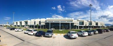 Aéroport international de Seyit de koca d'Edremit Précédemment connu comme aéroport de Balikesir Edremit Korfez E Photographie stock