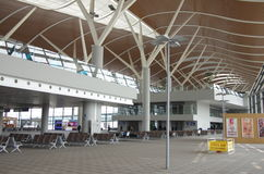 Aéroport international de Shanghai Pudong Images libres de droits