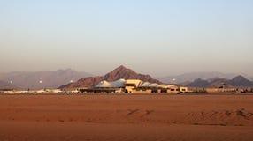 Aéroport international de Sharm el-Sheikh. Images stock