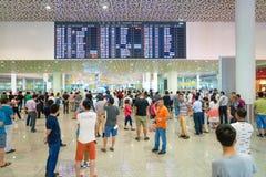 Aéroport international de Shenzhen Bao'an Photos stock