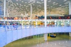 Aéroport international de Shenzhen Bao'an Photographie stock libre de droits