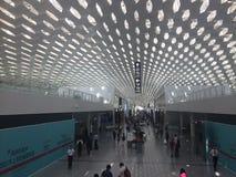 aéroport international de Shenzhen, Chine Images libres de droits