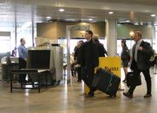Aéroport international de Sheremetyevo Photographie stock
