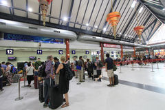 Aéroport international de Siem Reap Photographie stock libre de droits