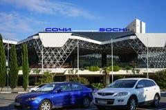 Aéroport international de Sotchi La Russie - 7 juin 2015 Photographie stock