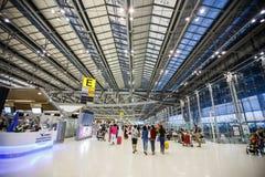 Aéroport international de Suvarnabhumi Photos stock