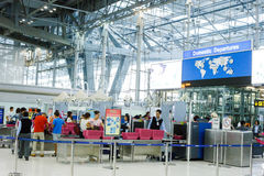 Aéroport international de Suvarnabhumi Photographie stock libre de droits