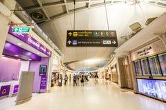 Aéroport international de Suvarnabhumi Photographie stock