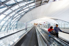 Aéroport international de Suvarnabhumi Images libres de droits