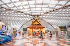 Aéroport international de Suvarnabhumi Image libre de droits