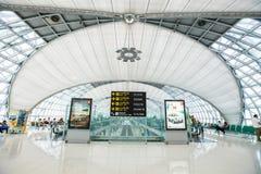 Aéroport international de Suvarnabhumi Photo stock