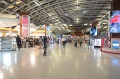 Aéroport international de Suvarnabhumi Bangkok Photo libre de droits