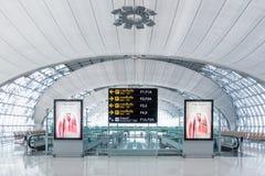 Aéroport international de Suvarnabhumi, Thaïlande Images stock