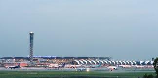 Aéroport international de Suwannabhumi Photographie stock libre de droits