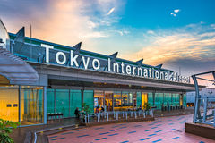 Aéroport international de Tokyo Image stock