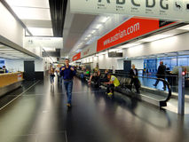 Aéroport international de Vienne Photos libres de droits