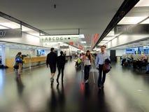 Aéroport international de Vienne Image stock